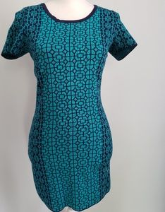 Romeo and Juliet Couture teal blue bodycon…